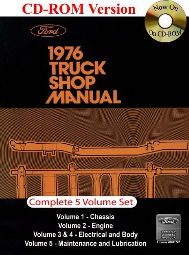1976 Ford Truck Shop Manual