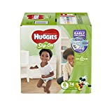 Health & Personal Care : Huggies Little Movers Slip-On Diapers, Size 6, 74 Count