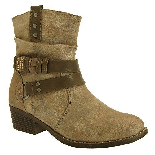 Womens 14 Eye Zip Boot - 3