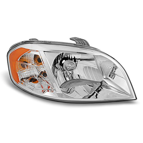 2007 Chevrolet Aveo Sedan (For 2007 2008 2009 2010 2011 Chevy Aveo 4 Door Sedan Clear Right RH Passenger Side Front Lamp Headlight)
