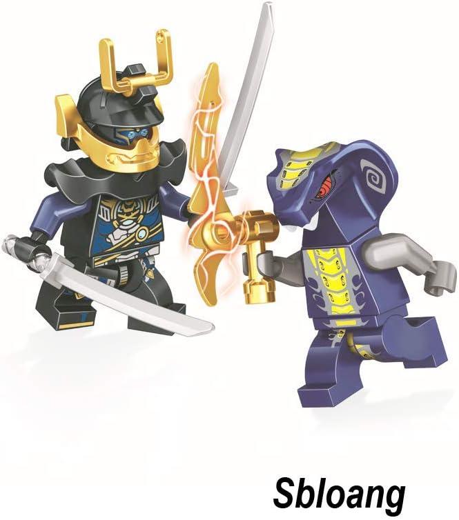 24Pcs Ninjago Mini figure Kai Jay Sensei Wu Master Building Blocks Toy gifts