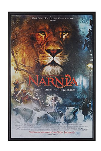Velox Global Movie Poster Snap Frame, 27 x 40 inch, narrow 1 inch (25mm) wide aluminum front loading snap frame, Clear Len Included, Black by Velox Global