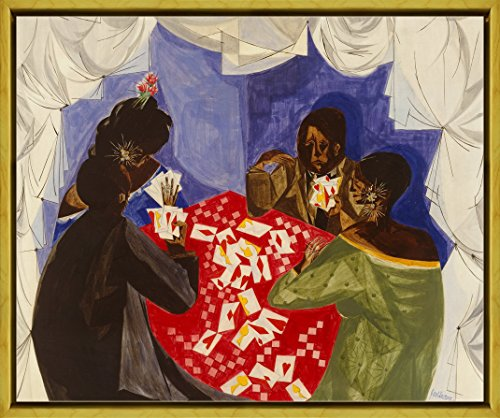 Berkin Arts Framed Jacob Lawrence Giclee Canvas Print, used for sale  Delivered anywhere in Canada