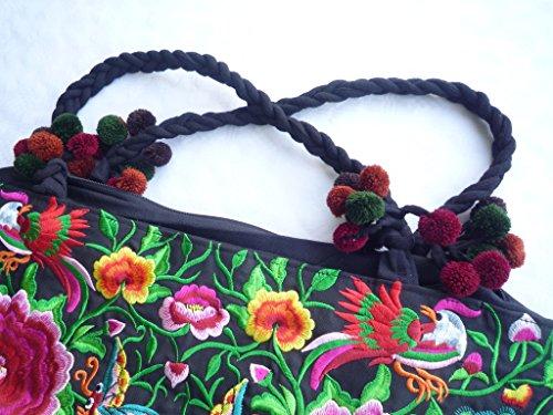 Ariyas Thaishop, Borsa tote donna Multicolore multicolore