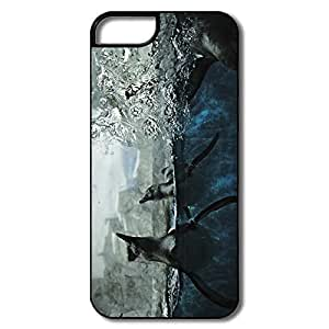 IPhone 5S Cases, Penguins Captivity White/black Cover For IPhone 5 5S