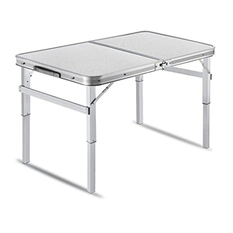 Mesas Plegables Aluminio Taburetes De Metal, Altura Ajustable ...