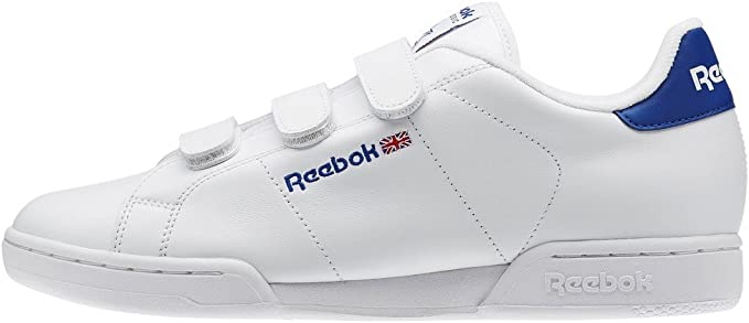 Reebok Schuhe – Npc Straps weißblaurot Größe: 44: Amazon
