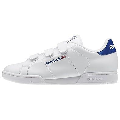 78c64786b52 Reebok Shoes - Npc Straps white blue red size  44  Amazon.co.uk  Shoes    Bags