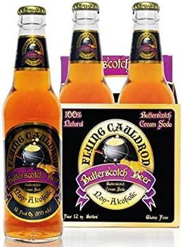 Flying Cauldron Butterscotch Beer 4/pack by N/A …: Amazon.es: Alimentación y bebidas