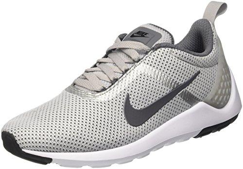 Nike Mens Lunarestoa 2 Scarpe Da Corsa Essenziali Lupo Grigio Grigio Scuro Bianco Nero 002