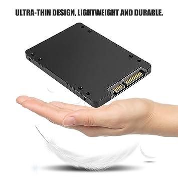 Caja de 2.5 pulgadas SSD, aleación de aluminio M.2 NGFF a caja de ...