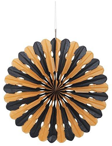 Orange Black Halloween Tissue Decoration