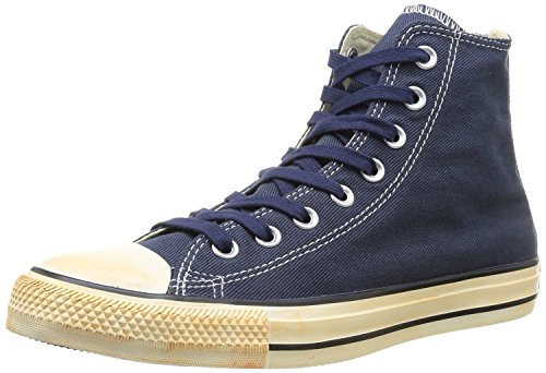 Converse Sneaker Unisex - adulto, Blu (Vintage Washed Twill Navy), 48.5 (13 UK)