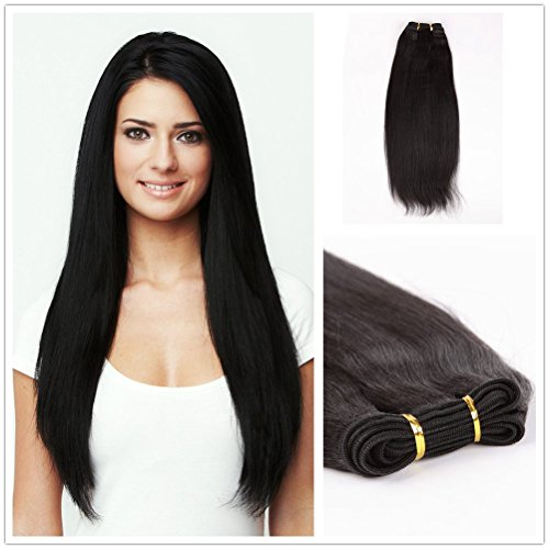 - Wigsroyal 18 Inch Malaysian Virgin Yaki Perm Weave,Off Black Color,4Oz/Bundle,3 Bundles(18