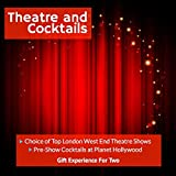 Theatre and Cocktails - Choice of London West End Theatre Shows with Cocktails - Gift…
