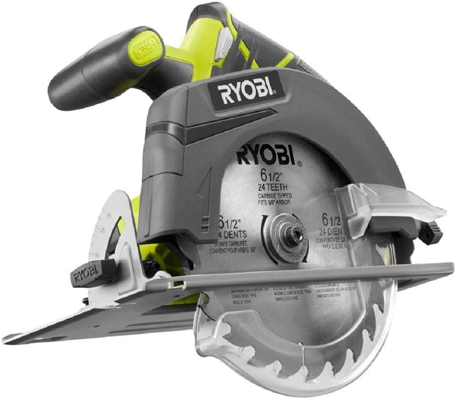 Ryobi ZRP507 ONE Plus 18V Cordless Circular Saw Bare Tool Renewed