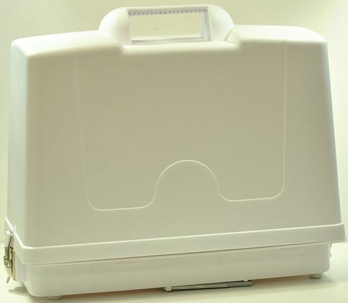 Generic para máquina de coser de plástico funda tipo libro para: Amazon.es: Hogar