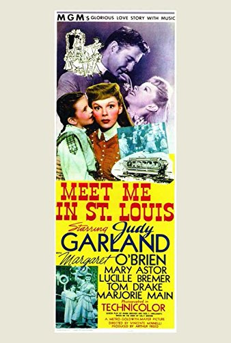 Meet Me in St. Louis POSTER Movie (27 x 40 Inches - 69cm x 102cm) (1944) (June Lockhart Meet Me In St Louis)