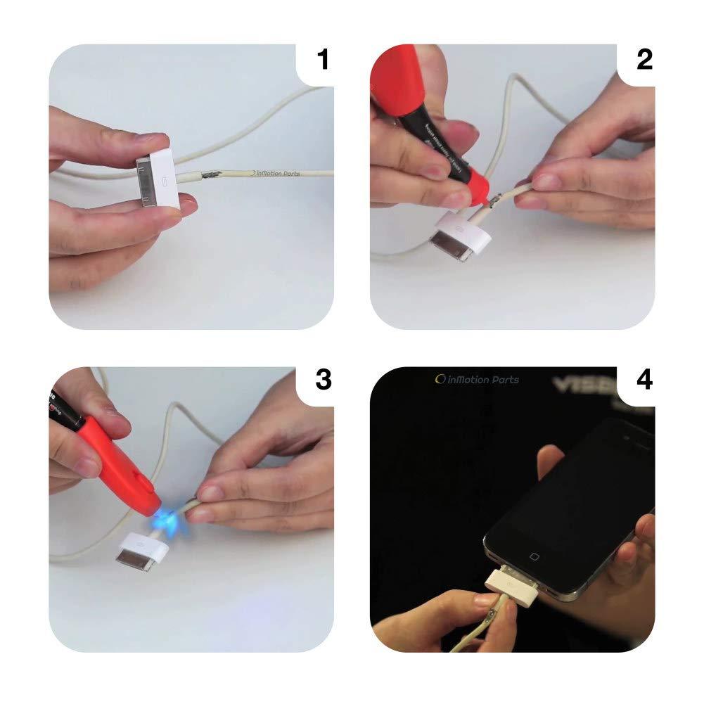 Visbella UV Light Glue, Hand-Held Welders Resin, Plastic Welder, Glue with UV Light Included