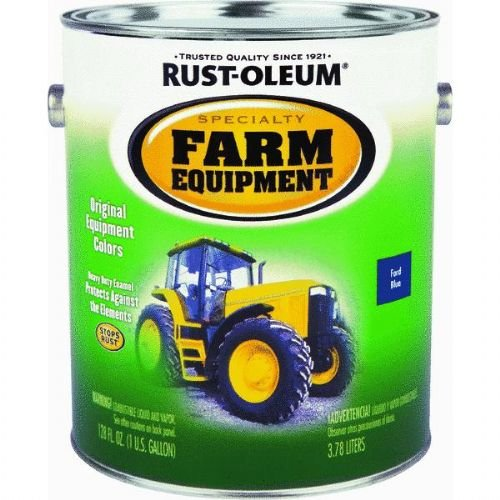 - RUST-OLEUM 7424402 Gallon Ford Blue Bright Enamel Paint