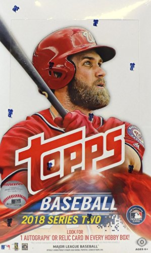 2018 Topps Series 2 MLB Baseball HOBBY box (36 pk, no bonus pack) ()