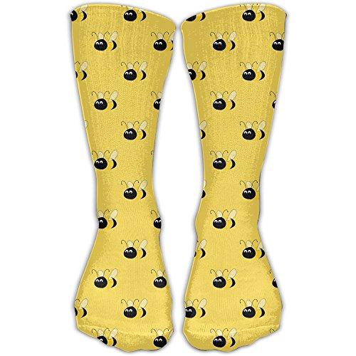 Bumblebee Women & Men Socks Soccer Sport Tube Stockings Length -
