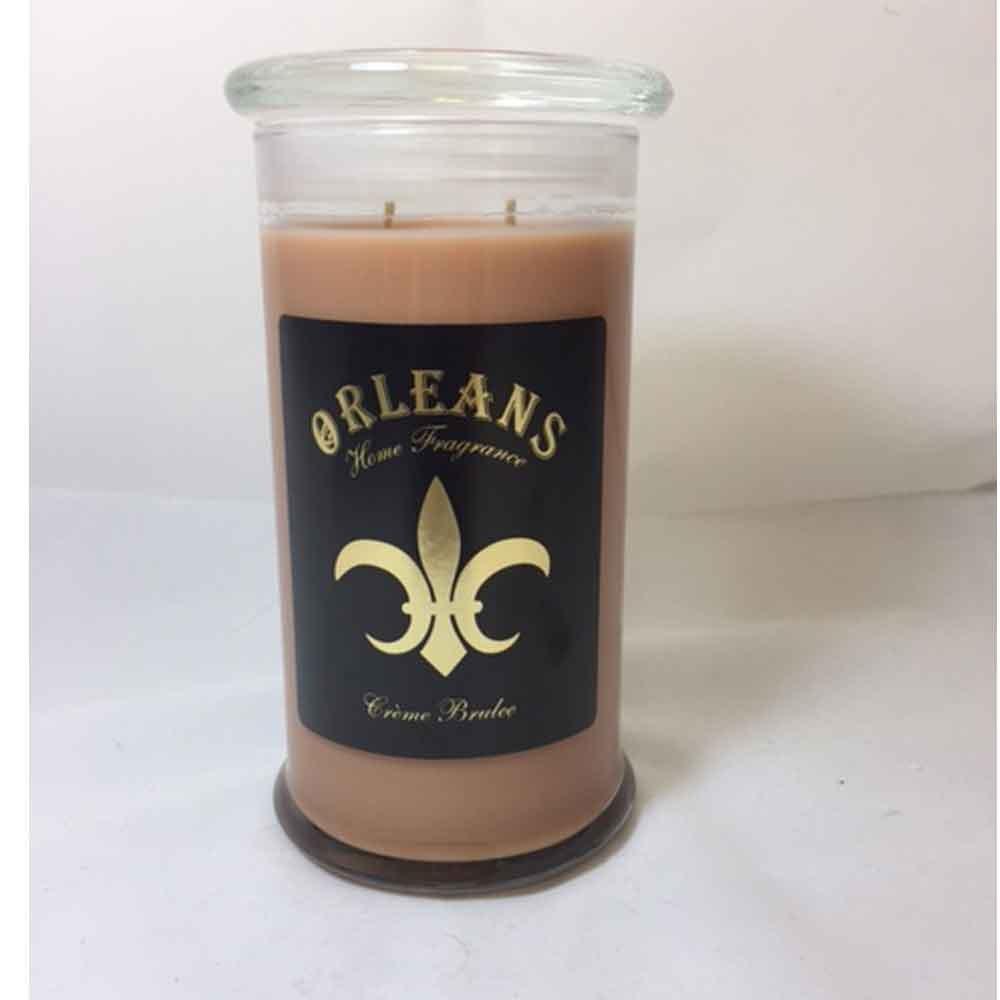 Orleans Home Fragrance 18 oz Creme Brulee Candle