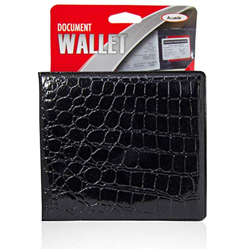Allison Car Registration Holder Insurance and Registration Wallet - Inside Document Holder