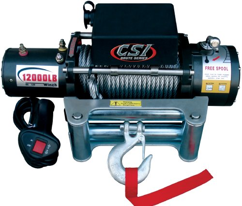 CSI P12000 12000 lbs Low Profile Winch