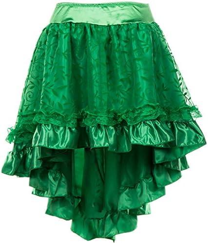 Alivila.Y Fashion Womens Steampunk Skirt Victorian Asymmetrical High Low Dress
