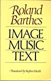 Image, Music, Text, Barthes, Roland, 0809013878