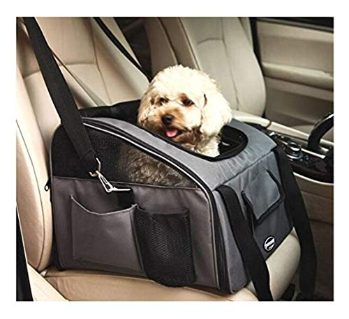 - Meiying Pet Car Seat Carrier for Dog Cat ,Puppy Small Pets Travel Cage Lookout Booster Seat