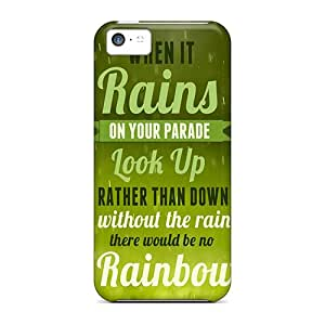 Cases Covers When It Rains/ Fashionable Cases For Iphone 5c