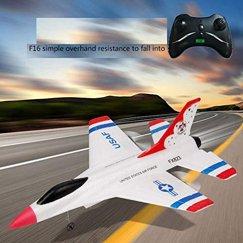 Yu2d_ Drone Accessories Yu2d 🛩🛩FX-823 2.4G 2CH RC Airplane Glider Remote Control Plane Outdoor Aircraft by Yu2d_ Drone Accessories (Image #5)