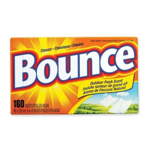 (Procter & Gamble Commercial Bounce Dryer Sheets, Reduces Static, 160 Sheets/BX (Units per case: 2))