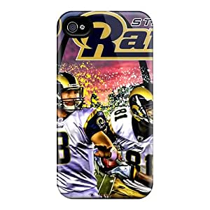 LauraAdamicska Iphone 4/4s Scratch Resistant Hard Cell-phone Case Customized Realistic St. Louis Rams Skin [tMF15071DSGK]