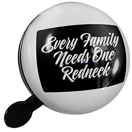 Redneck Choppers - Small Bike Bell Classic design Every Family Needs One Redneck - NEONBLOND
