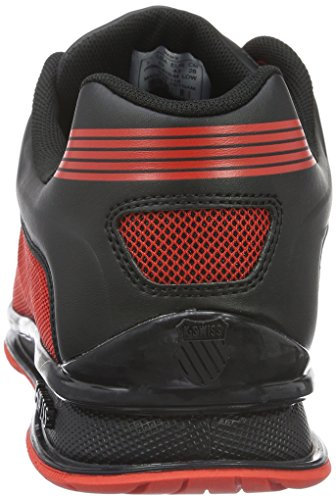 K-Swiss Rinzler Trainer, Zapatillas Para Hombre Rojo (fiery Red/black 610)