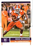 2017 Score #369 Mike Williams Clemson Tigers Rookie