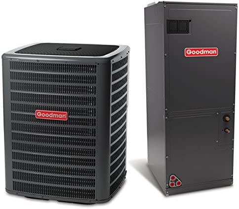 Goodman 1.5 Ton 16 SEER Variable Speed Central Air Conditioner Split System - Multiposition 51dz29pZFYL