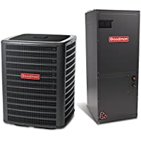 3.5 Ton 16 SEER Multi Speed Goodman Central Heat Pump Split System - Multiposition