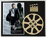 CASINO ROYALE JAMES BOND DANIEL CRAIG POSTER LIMITED EDITION MOVIE REEL DISPLAY