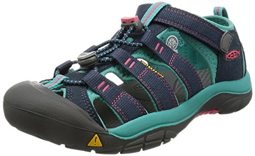 KEEN Little Kid (4-8 Years) Newport H2 Midnight Navy/Baltic Sandal - 1 M US Little Kid