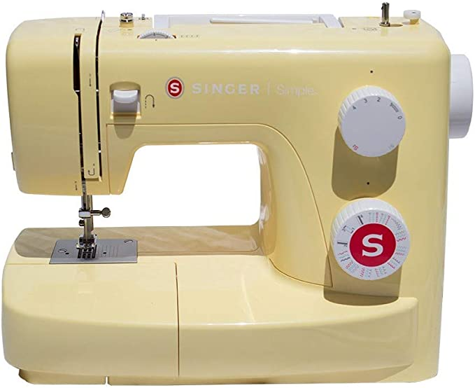 SINGER Simple 3223Y Máquina de coser, Amarillo: Amazon.es: Hogar