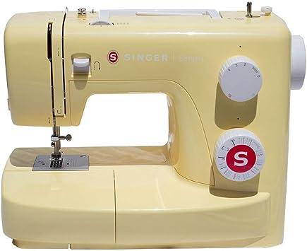 SINGER Simple 3223Y Máquina de coser, Amarillo: Amazon.es: Hogar