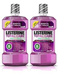 Listerine Total Care Anticavity Mouthwash, 6 Benefit...
