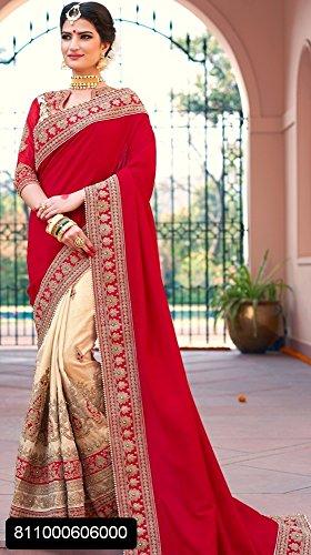 Wedding Bridal Saree Dress Wedding Party Wear Women Sari Ethnic Designer Indian 9103