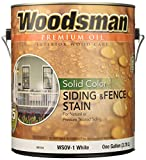 deck stain colors True Value WSOV1-GAL 1-Gallon White Solid HSE Stain Solid Color Oil House and Trim Stain