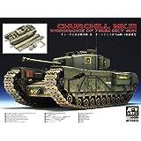 AFV Club 1:35 Churchill Mk.3/75mm INCLUDING WORKABLE TRACK (AF35183)