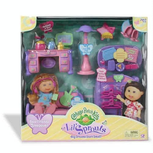 Cabbage patch kids little sprouts cabbage academy play set playset.